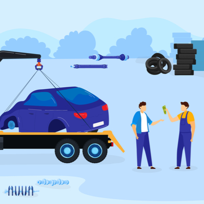 scrap car sales